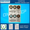 color change humidity indicator card in ic