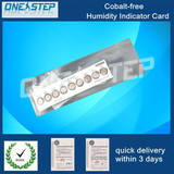 Eco-friendly humidity indicator card in ic