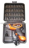 45pc 4.8V Cordless Screwdriver Set