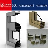 50c aluminium small casement windows