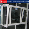 Thermal Break Aluminum Window heat insulated for house upvc