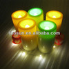 Realistic Flameless Flicking battery waterproof Plastic Led Candle