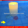 battery operated pillar flameless outdoor use waterproof led candles