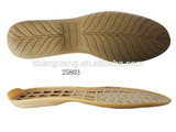 Fashion cozy flexible tpr lady soles for shoe making
