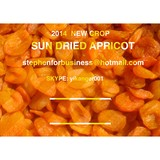 2014 new crop  Sweet Dried Apricot for sale no sugar adding