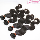 Homeage 2014 wholesale 100% virgin remy natural raw indian hair indian hair