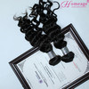 Homeage 2014 best loose wave/wavy wholesale brazilian hair/human hair extensions
