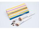 2014 Latest makeup brush kit with colorful makeup brush bag