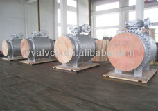 "36"" 600LB Flanged Ball Valve"