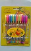 colorful BP plastic scented gel pen