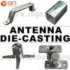 OEM Die Casting Part / Antenna Die-castings / Zinc - Aluminum Casting