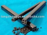 PVC extruded rigid cable duct with four holes