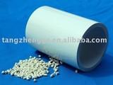 Vacuum extruded anti-aging round rigid plastic tube
