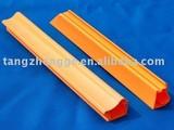 colored pvc profiles/orange pvc profile