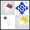 Electric Capacitor (mini/MEF) CL21X Metallized Polyester Film Capacitor / STE high quality film capacitor