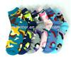 6 pairs Women's camo designed ankle socks
