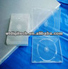 14mm transparent rectangle single/double CD case