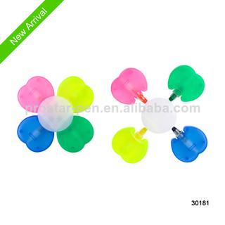 4 in 1 gel solid highlighter flower shaped