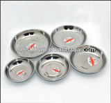 different sizes stainless steel tray