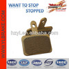 Hot sale high quality copper brake bicycle brake pads