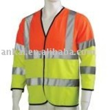 LED Safety jacket & LED Reflective jacket,CE EN471 Safety jacket. LED Hi vis jacket