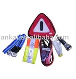 Car first aid kits warning triangle kits