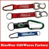 Multi metal bottle opener carabiner lanyard,key holder carabiner lanyard for promotion