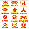 Car logo car sticker