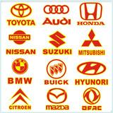 Car logo car sticker