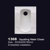 1308 ceramic squat toilet