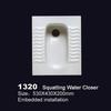 1320 ceramic square water closet toilet