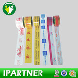 colorful logo transparent adhesive tape