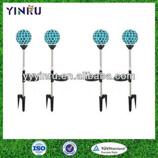 YINRU-mosaic ball solar light/The single mosaic ball stake solar light,china suppliers,solar lights for the garden