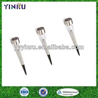 ZHEJIANG YUYAO-Stainless steel stake solar light,solar lighting,solar garden light