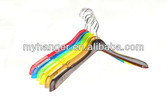 P089 colorful plastic hanger for clothes