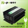 600W Pure Sine Wave DC12V 24 48 96V to AC110V 220VAC Power Inverter