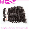 High quality hot sale human hair 100% virgin Brazilian hair weave bundles