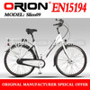 China Apollo Orion EU Light Electric Bicycle Slim 09 City Bike E-BIKE Lithium Battery Ally Frame