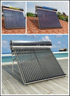 2014 new Split Non-Pressure evacuated collector solar water heater evacuated collector