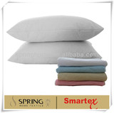 terry waterproof pillow protector-white