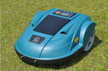 3rd generation robot lawn mower, touch sensor auto mower, lithium battery, CE RoHS approved, high efficiency garden equipment