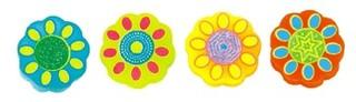 flower shape eraser for child