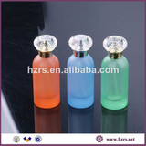 30ml colored bottle cylinder perfume glass bottle