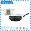 3pcs non-stick fry pan and stainless steel cooking pot/metal pot and pan