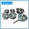12pcs classic stainless steel wholesale cookware