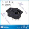 3pins AC socket with switch