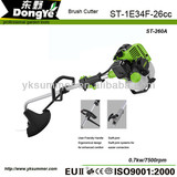 Hand hold 2 Strokes Grass Brush cutter ST-260A with 1E34F 26cc lawn mower