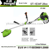 Hand hold Grass Brush cutter ST-260 with 1E34F 26cc lawn mower