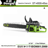 Zenoah Gasoline Chain Saw 4500 45cc 1.3KW 7500rpm