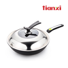 Aluminum Nonstick wok with good quality and good price